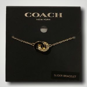 Coach bracelet, box and gift bag included